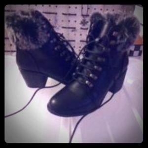 Women's fur fashion boots